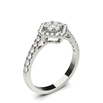 bague diamant serti clos
