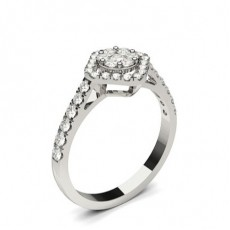 Prong Setting Medium Engagement Ring