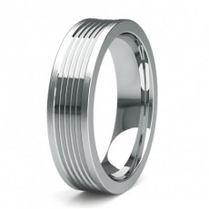 Contemporary Women's Wedding Bands