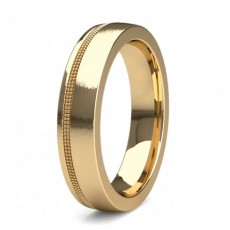 Yellow Gold Men's Wedding Bands
