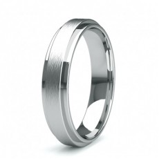 5.00mm Slight Comfort Fit Mens Plain Wedding Band