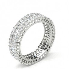 Halb Eternity Diamant Ring in einer Kanalfassung