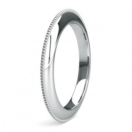 2.50mm Slight Comfort Fit Plain Wedding Band