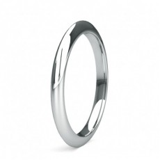 White Gold Women's Wedding Bands