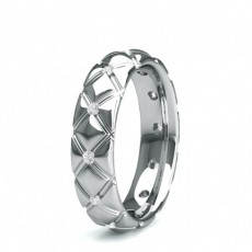 1.50mm Eternity Diamant Ring in einer Kanalfassung