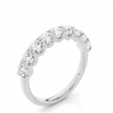 Round Cut Diamond Rings