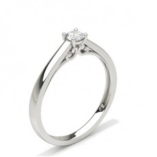 Full Bezel Setting Three Stone Ring