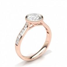 Rose Gold Diamond Wedding Rings