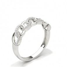 Silver Statement Diamond Rings