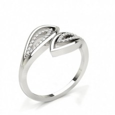 Fashion Studded Diamond Ring