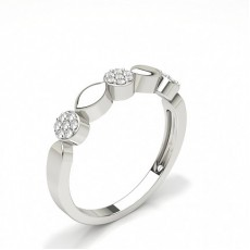 Fashion Studded Standard Diamond Ring