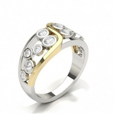 Round Statement Diamond Rings