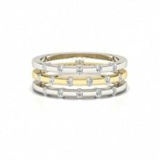 Round Platinum Engagement Rings