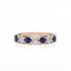 Rose Gold Sapphire Rings