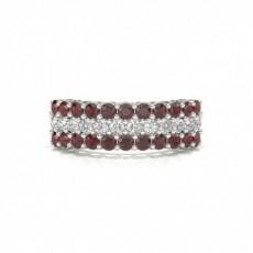 Platinum Ruby Rings