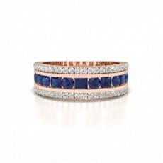 Rose Gold Gemstone Rings