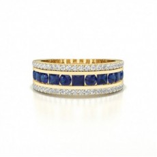 Yellow Gold Gemstone Rings
