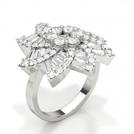 Fashion Round Diamond Ring