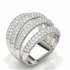 Moderne Diamantringe