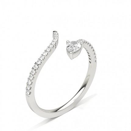 Fashion Studded Round Diamond Ring