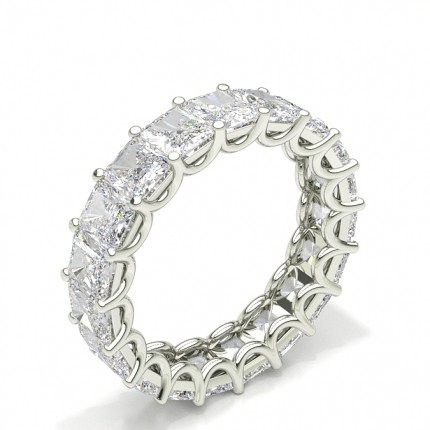 4 Prong Setting Full Eternity Diamond Ring