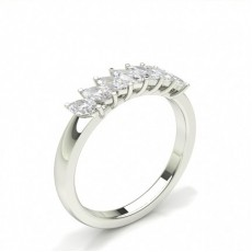 Marquise 7 Stone Diamond Rings