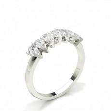 Pear Diamond Eternity Rings