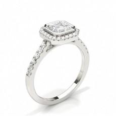 Asscher Engagement Rings