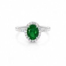 Oval Gemstone Rings