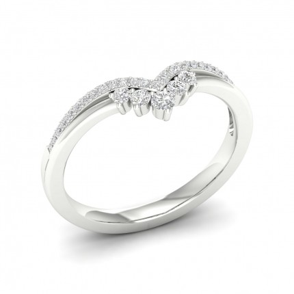 2.00mm Studded Diamond Shaped Band