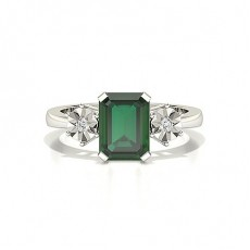 Emerald Emerald Engagement Rings