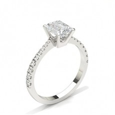Radiant Engagement Rings