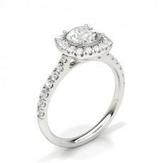 Asscher Halo Engagement Rings