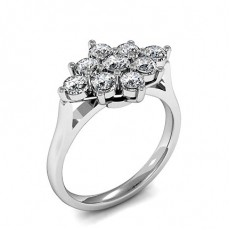 Prong Setting Diamond Rings