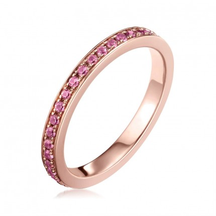 Sacet Ornate Full Eternity Ring