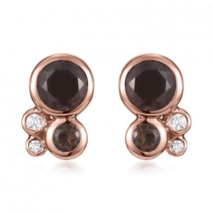 Sacet Orbis Cluster Stud Earrings