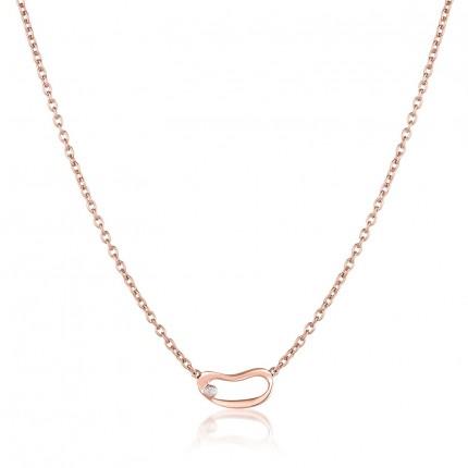 Sacet Marque Small Hoop Necklace